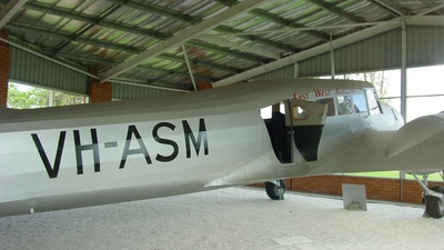 VH-ASM - Avro Anson - East West Airlines