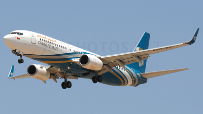 A4O-BP - Boeing 737-8Q8 - Oman Air
