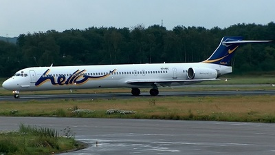 N744BC - McDonnell Douglas MD-90-30 - Hello