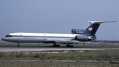 RA-85760 - Tupolev Tu-154M - Continental Airways