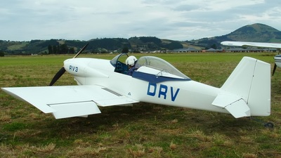 ZK-DRV - Vans RV-3 - Private