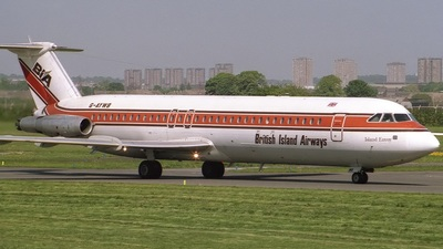 G-AYWB - British Aircraft Corporation BAC 1-11 Series 531FS - British Island Airways