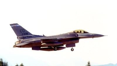 86-0338 - General Dynamics F-16C Fighting Falcon - United States - US Air Force (USAF)