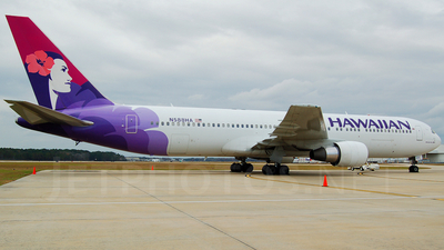 N588HA - Boeing 767-3CB(ER) - Hawaiian Airlines
