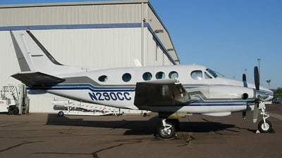 A picture of N290CC - Beech 65A90 King Air - [LJ132] - © Sun Valley Aviation