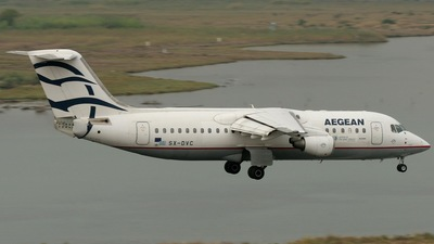 SX-DVC - British Aerospace Avro RJ100 - Aegean Airlines