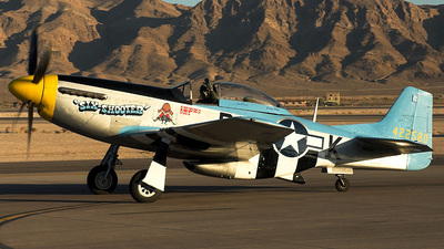 N2580 - North American P-51D Mustang - Private