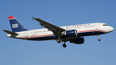 N108UW - Airbus A320-214 - US Airways