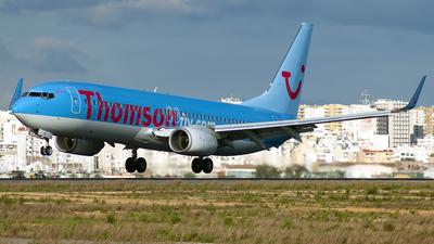 G-FDZB - Boeing 737-8K5 - Thomsonfly