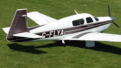 A picture of GFLYA - Mooney M20J - [243124] - © IAN CHANTLER