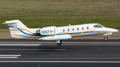 N367DA - Bombardier Learjet 35A - Private