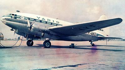 PP-AKE - Curtiss C-46 Commando - Varig