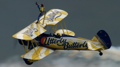 N5057V - Boeing A75N1 Stearman - Utterly Butterly Barnstormers