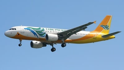 RP-C3241 - Airbus A320-214 - Cebu Pacific Air