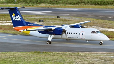 V2-LGI - Bombardier Dash 8-311 - Leeward Islands Air Transport (LIAT)