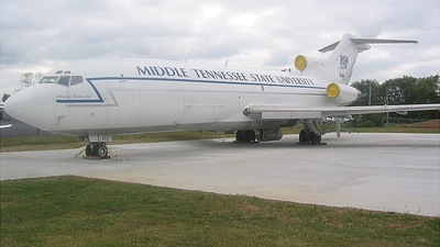 N117FE - Boeing 727-25C - Middle Tennesse State University