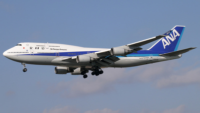 JA8096 - Boeing 747-481 - All Nippon Airways (ANA)