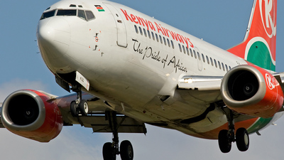 5Y-KQD - Boeing 737-3U8 - Kenya Airways