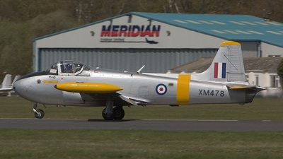 G-BXDL - Hunting Percival Jet Provost T.3A - Private