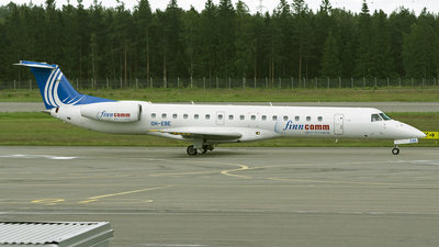 OH-EBE - Embraer ERJ-145LU - Finncomm Airlines