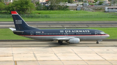 N528AU - Boeing 737-3B7 - US Airways