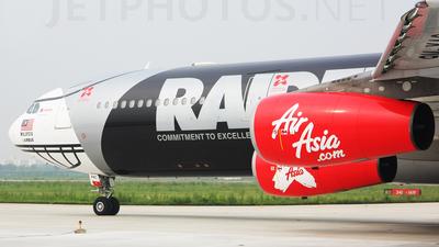 9M-XAC - Airbus A340-313X - AirAsia X
