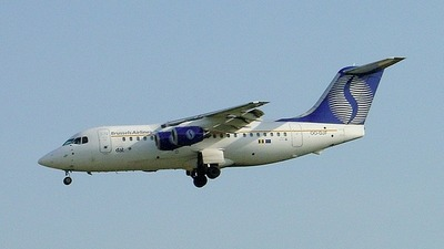 OO-DJF - British Aerospace BAe 146-200 - SN Brussels Airlines