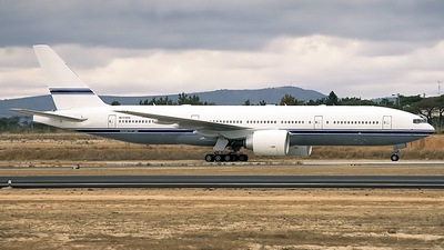 N777AS - Boeing 777-24Q - Mid East Jet