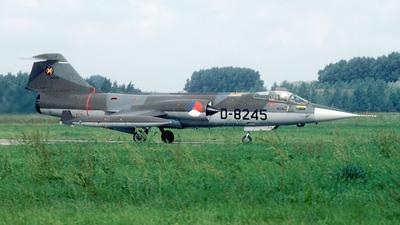 D-8245 - Lockheed F-104G Starfighter - Netherlands - Royal Air Force