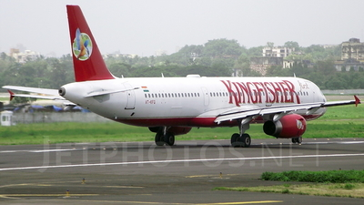 VT-KFQ - Airbus A321-232 - Kingfisher Airlines