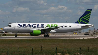 CS-TNO - Airbus A320-212 - Seagle Air