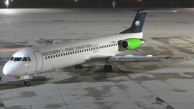 F-GNLG - Fokker 100 - Blue Line