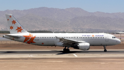 YL-LCA - Airbus A320-211 - Israir (LatCharter Airlines)