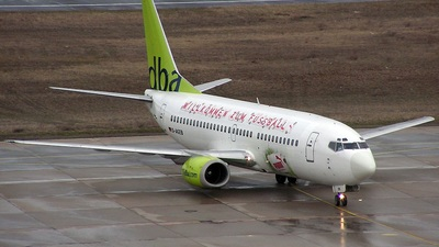 D-AGEB - Boeing 737-322 - dba (Germania)