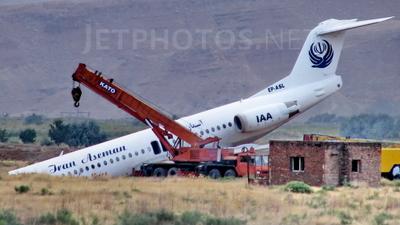 EP-ASL - Fokker 100 - Iran Aseman Airlines