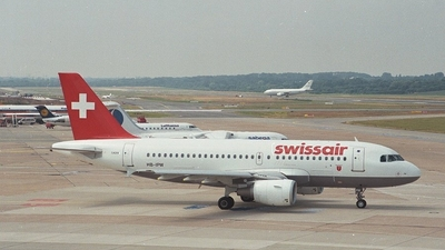HB-IPW - Airbus A319-112 - Swissair