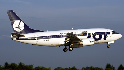 SP-LKD - Boeing 737-55D - LOT Polish Airlines