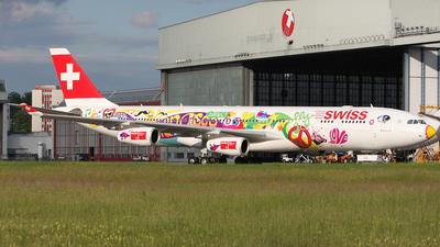 HB-JMJ - Airbus A340-313 - Swiss