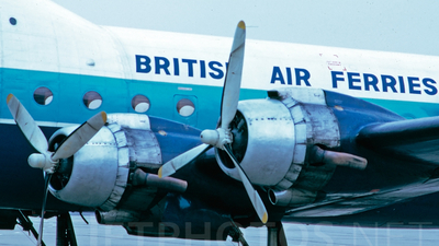 G-ASKG - Aviation Traders ATL-98 Carvair - British Air Ferries (BAF)