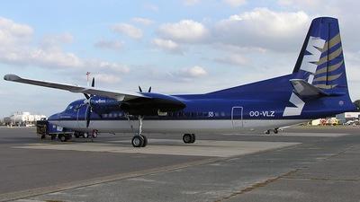 OO-VLZ - Fokker 50 - VLM Airlines
