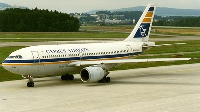 5B-DAQ - Airbus A310-203 - Cyprus Airways