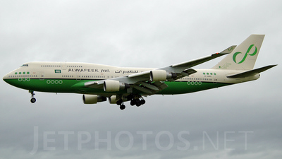HZ-AWA3 - Boeing 747-4H6 - Alwafeer Air