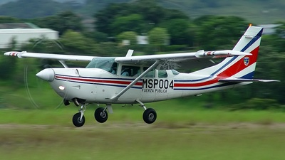 MSP004 - Cessna TU206G Turbo Stationair - Costa Rica - Ministry of Public Security