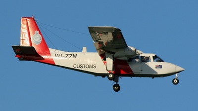 VH-ZZW - Britten-Norman BN-2 Islander - Australia - Customs