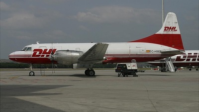EC-HMS - Convair CV-580(F) - DHL (Swiftair)