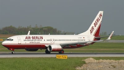 D-ABAP - Boeing 737-86J - Air Berlin