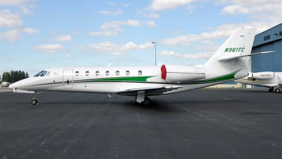N961TC - Cessna 680 Citation Sovereign - Private