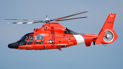 6582 - Aérospatiale HH-65C Dolphin - United States - US Coast Guard (USCG)