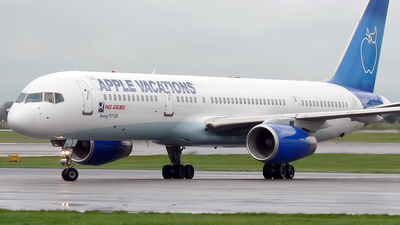 G-JMCD - Boeing 757-25F - Pace Airlines