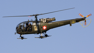 V-259 - Aérospatiale SA 316B Alouette III - Switzerland - Air Force